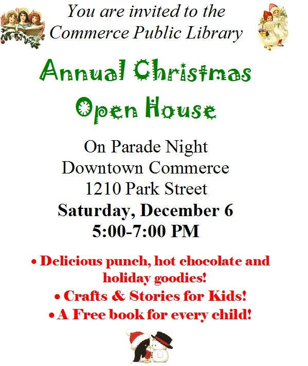 Christmas Open House 2014