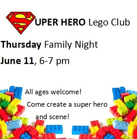 Super hero lego club