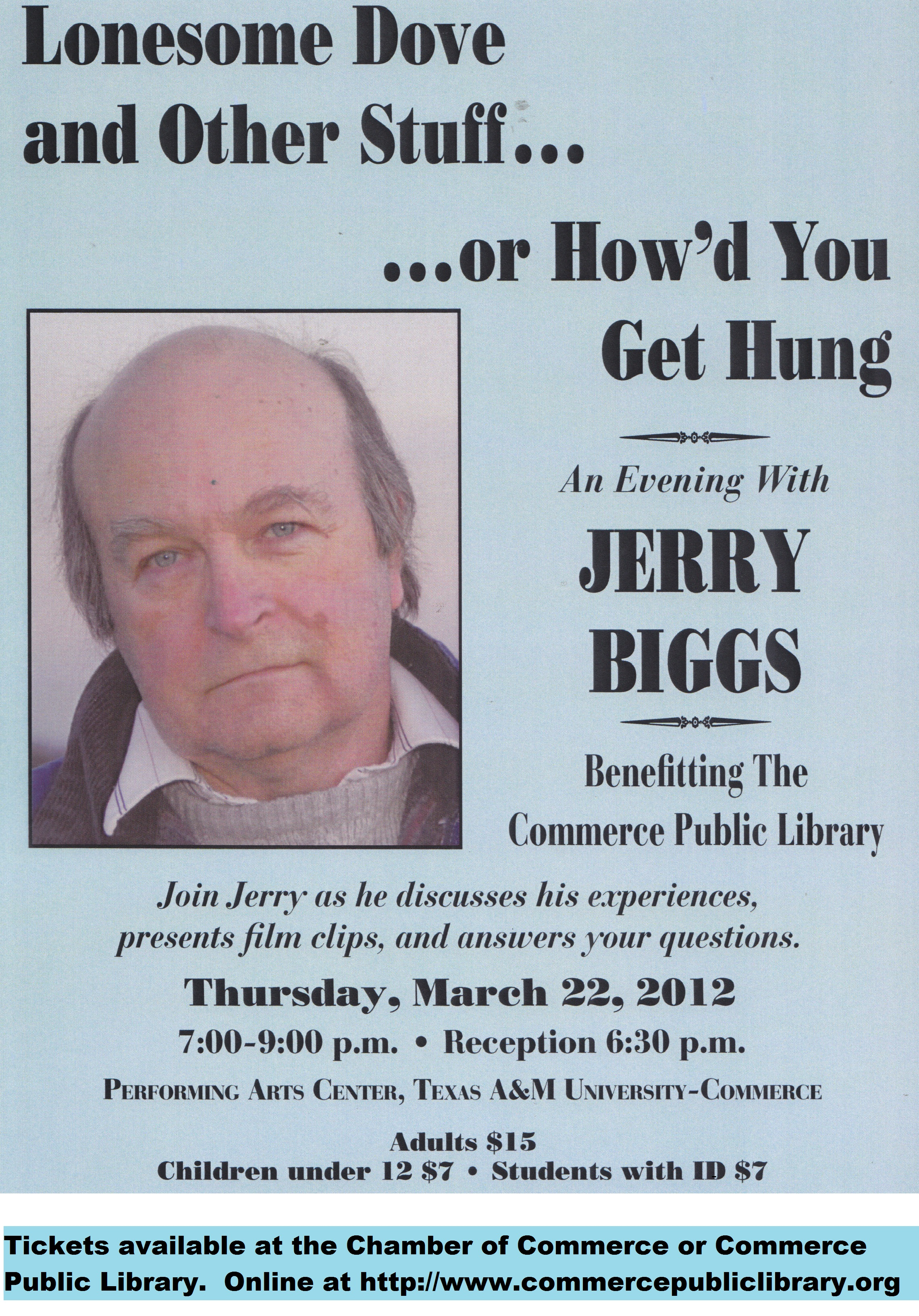 Jerry Biggs poster
