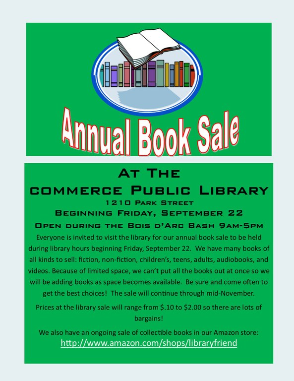 Book sale sign for chamber blast 2017.jpg
