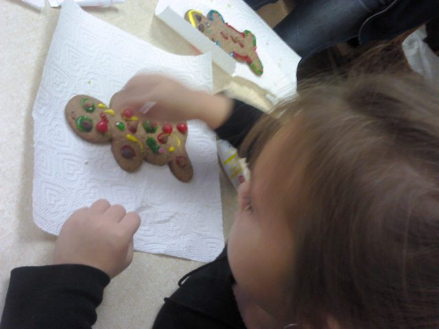 Storytime cookie decorating 1