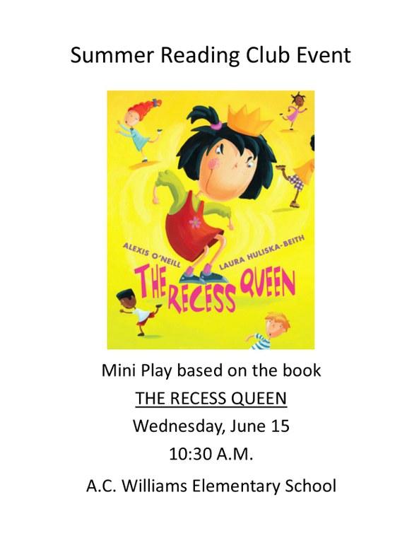 Recess Queen sign.jpg
